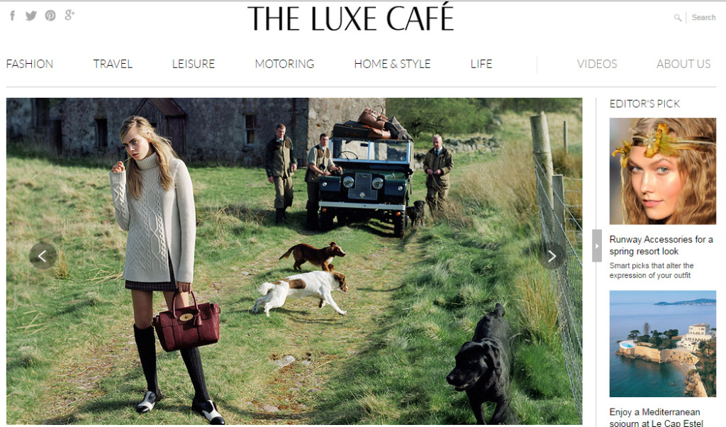 the luxe cafe review