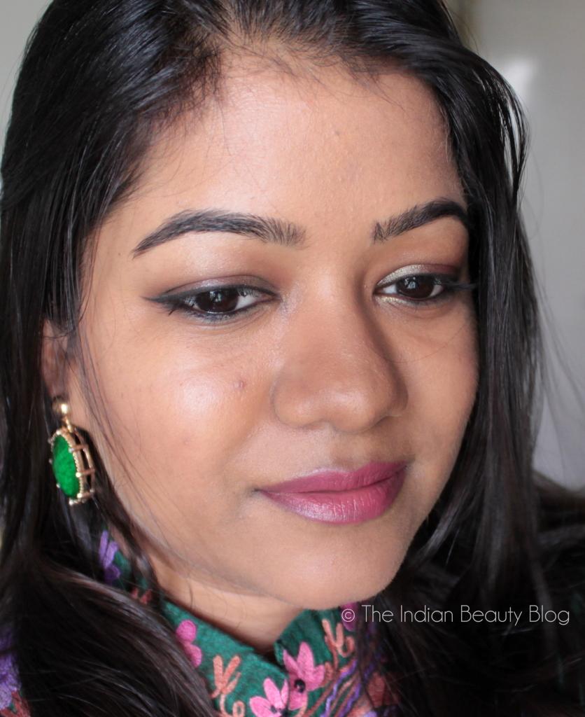 diwali makeup fotd