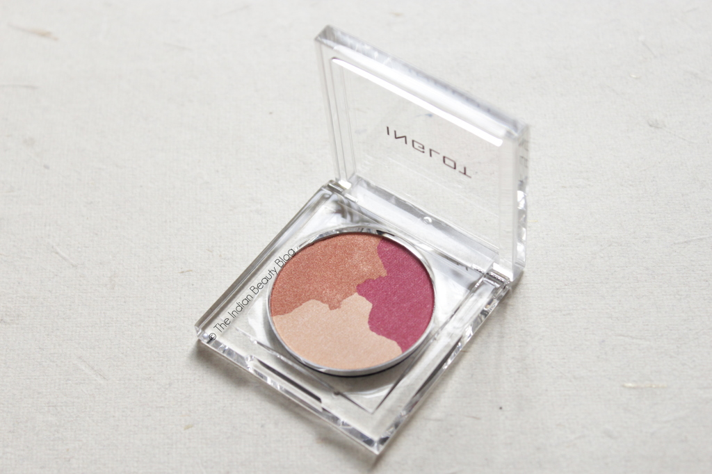 inglot m3 eyeshadow trio pearl 551 swatch review