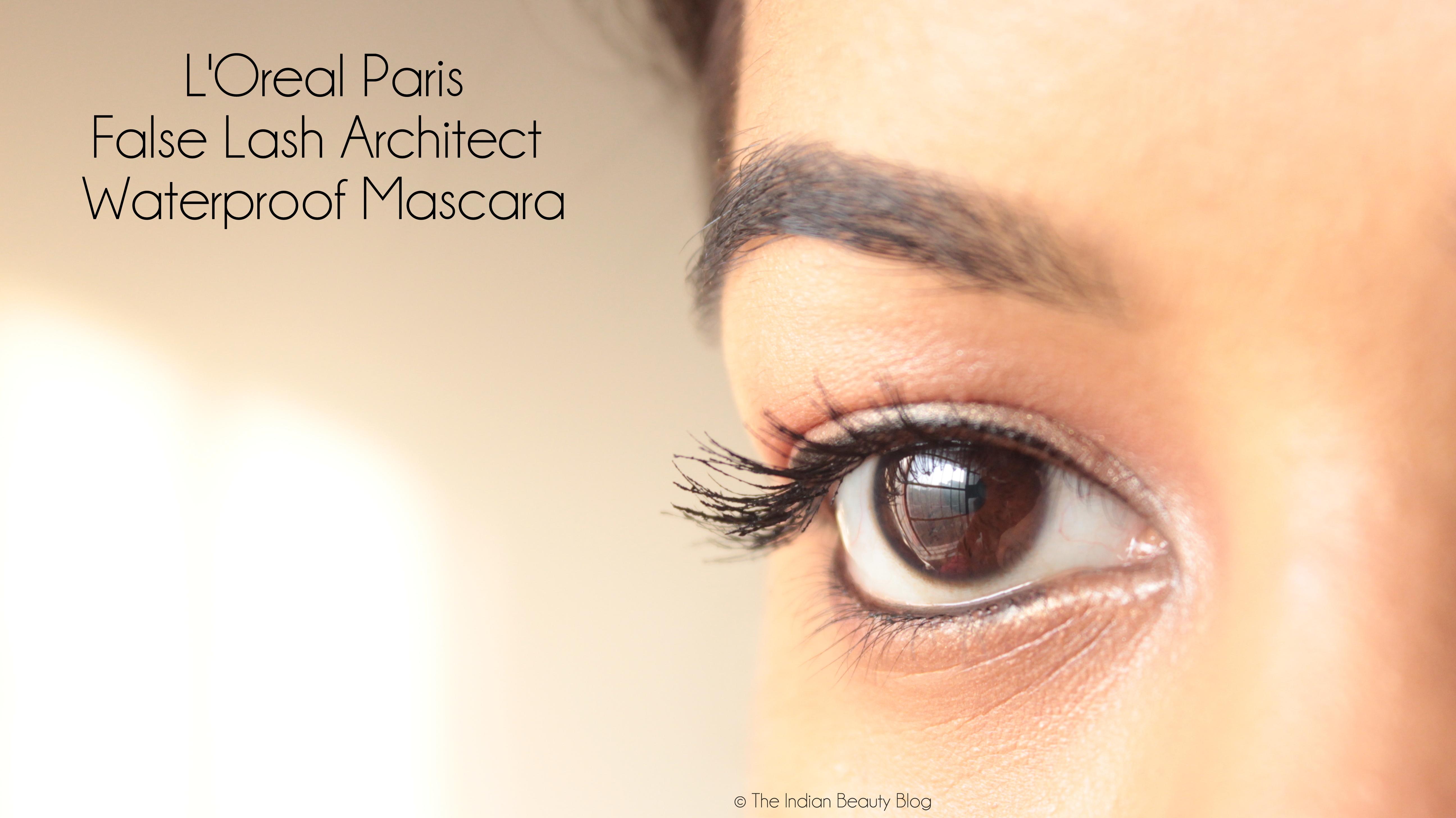 61a898ef3f4 L'Oreal False Lash Architect mascara review