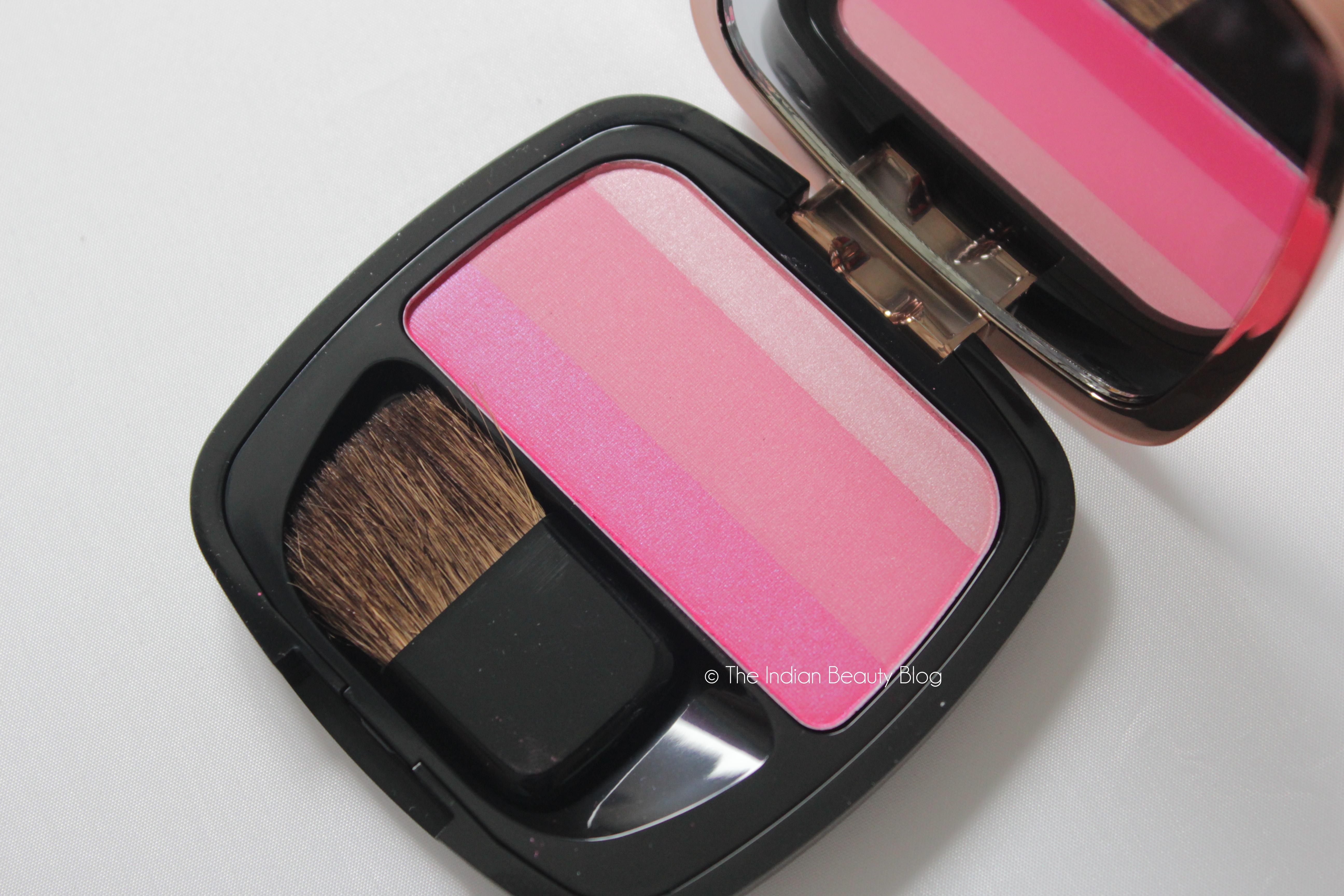 105d30dd8710d l oreal paris lucent magique blush fuchsia flush review swatch ...
