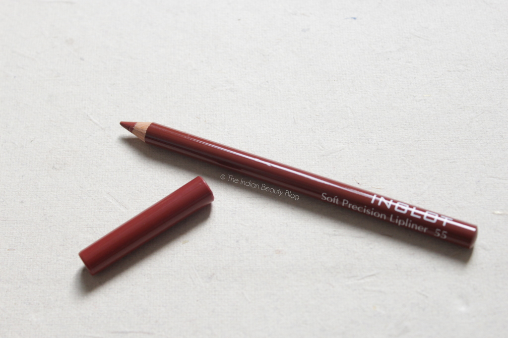 inglot soft precision lipliner 55 swatch review