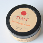 tvam foot massage cream review