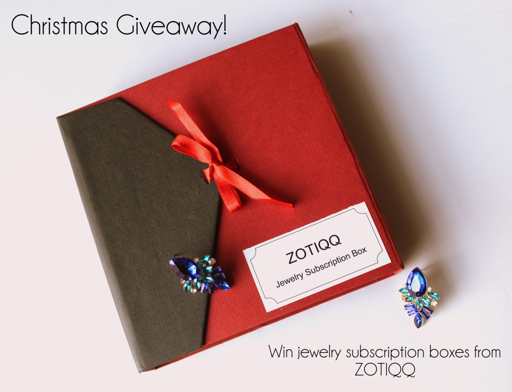 Giveaway: WIn Zotiqq jewelry subscription