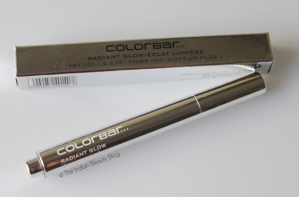 colorbar radiant glow illuminator review swatch price