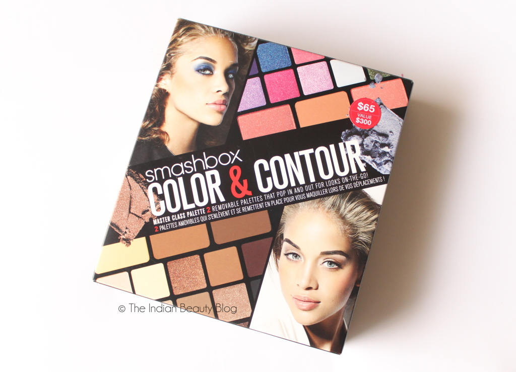smashbox color and contour masterclass palette review