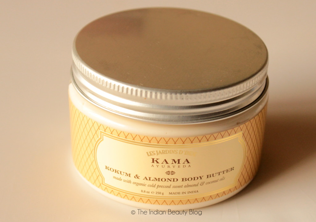kama ayurveda kokum and almond body butter review