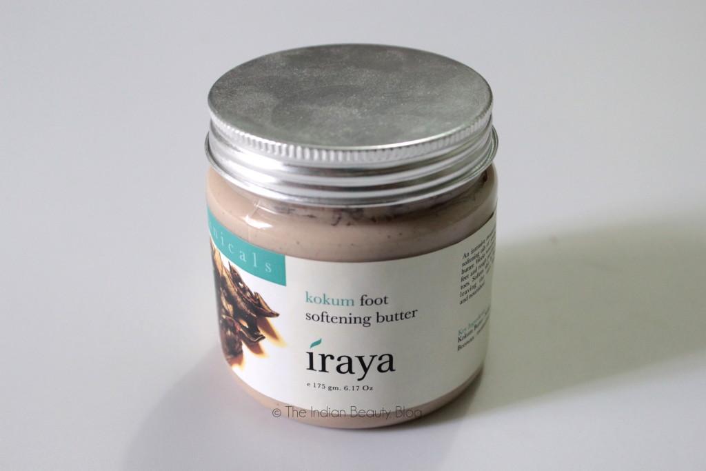 iraya kokum foot softening butter review