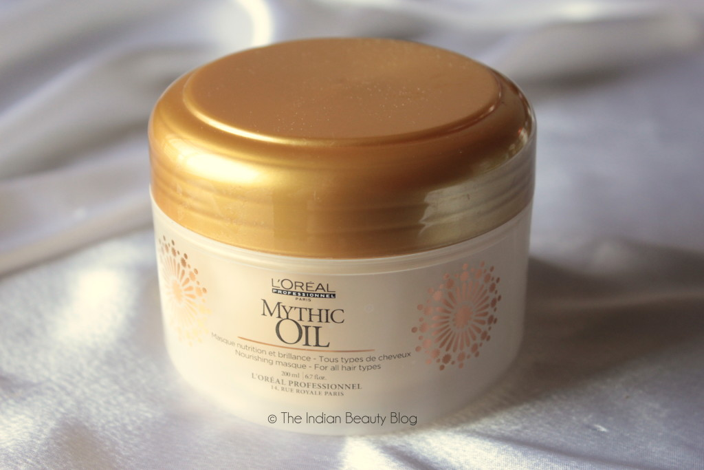 l'oreal mythic oil nourishing masque review