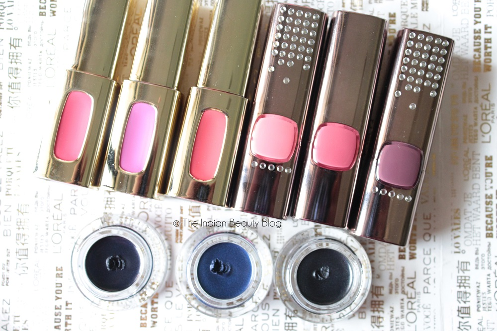 l'oreal paris cannes 2015 collection review swatches fotd