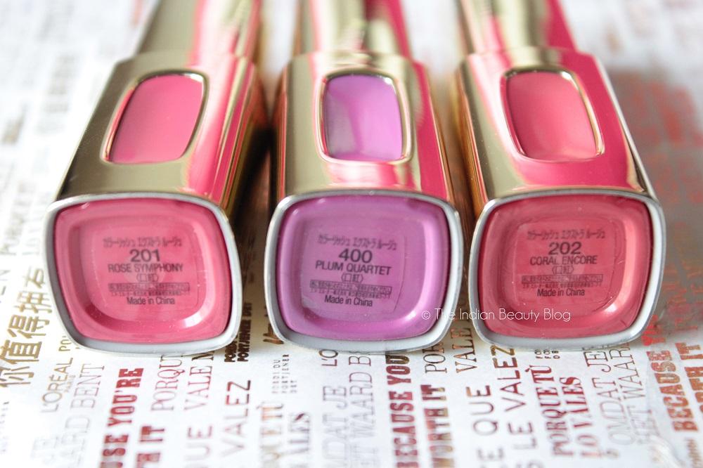 6f92b973b ... l oreal paris cannes 2015 color riche extraordinaire liquid lipsticks  ...
