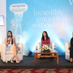 Gillette Venus Shaving Session with Kriti Sanon and beauty expert Namrata Soni