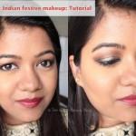 indian festive makeup