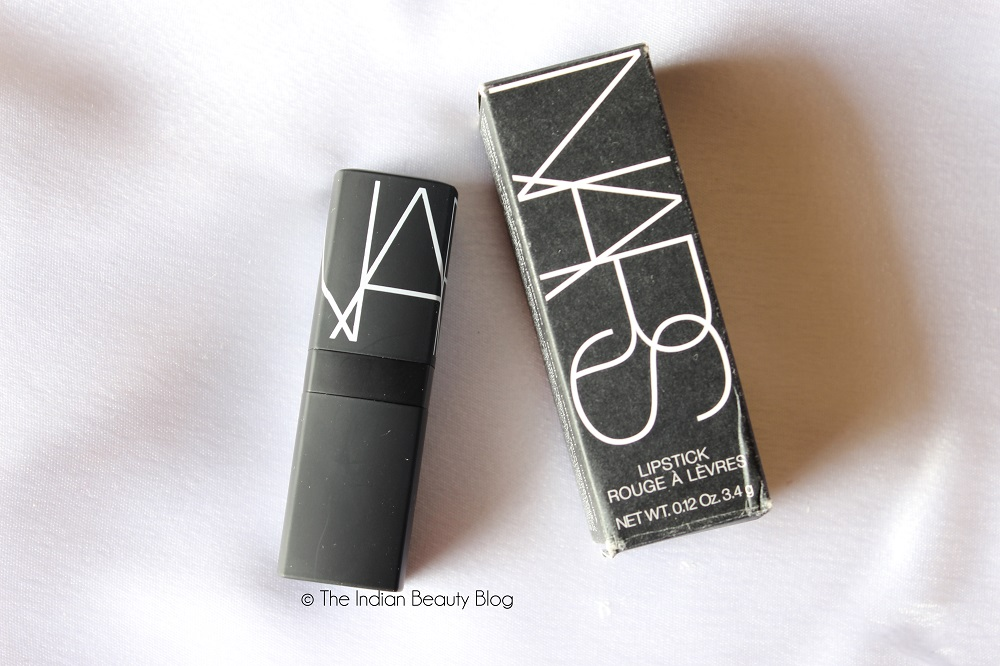 nars lipstick shanghai express review swatch fotd