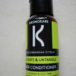 kronocare mediterranean citrus hair conditioner review