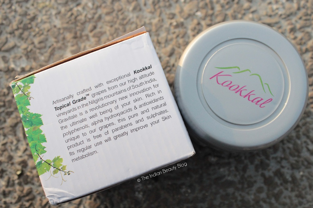 gravitale kookkal grape scrub review