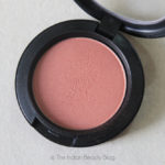mac powder blush sunbasque review swatch