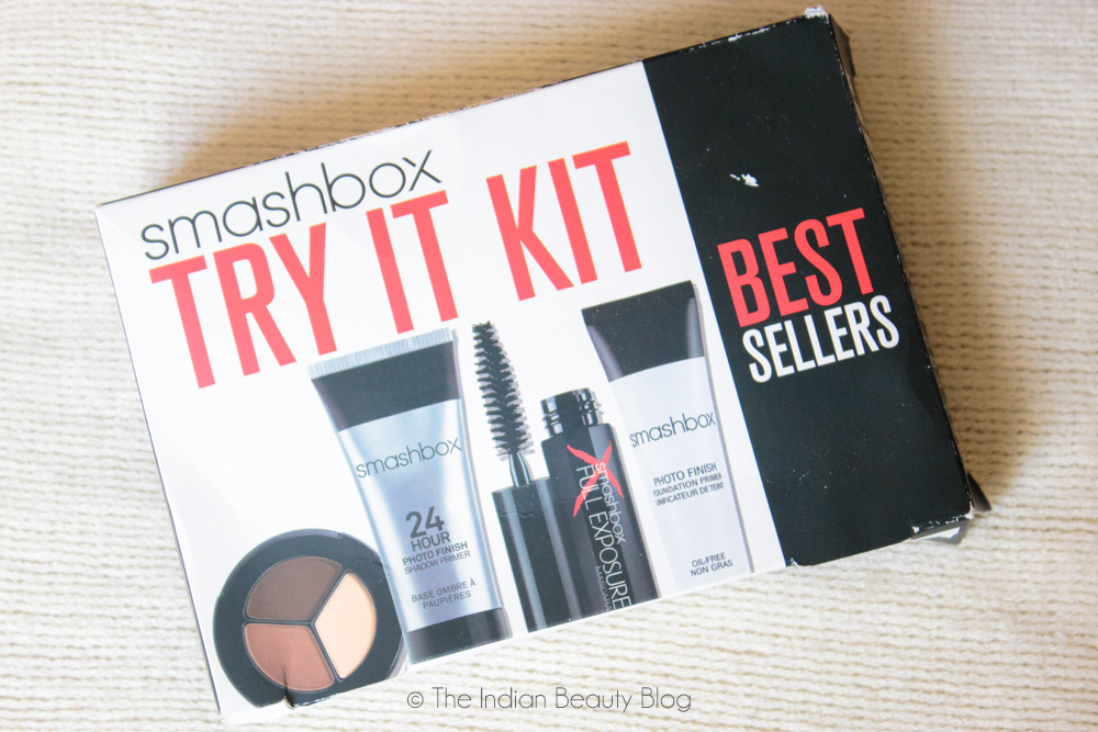 smashbox try it kit review