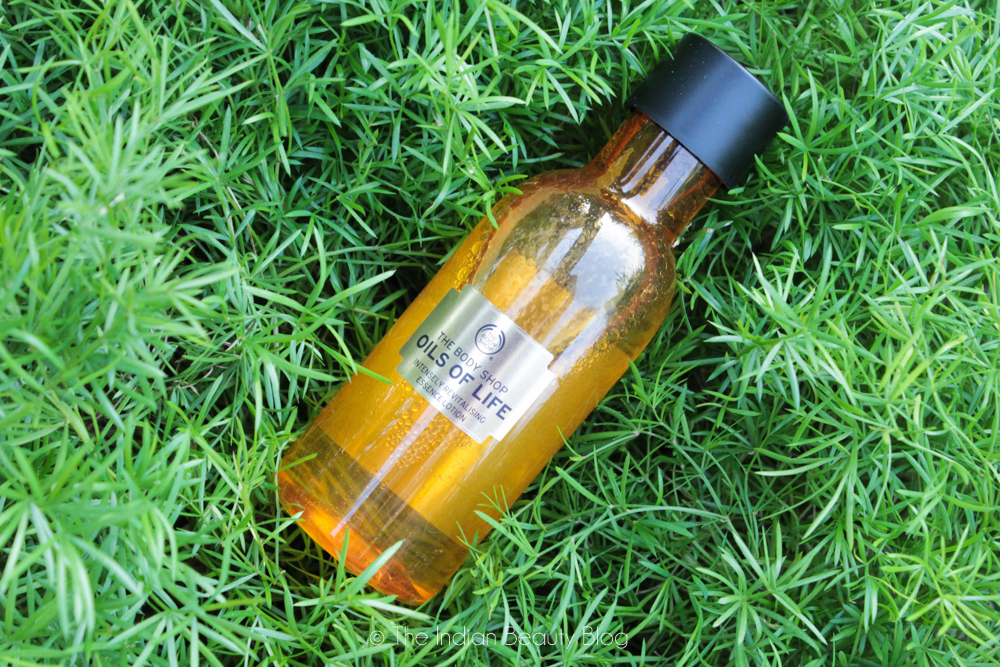 the body shop oils of life essence lotion review