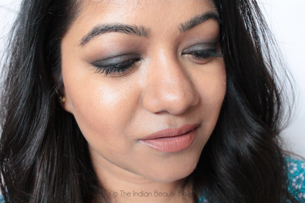 smokey eyes nude lips makeup blog