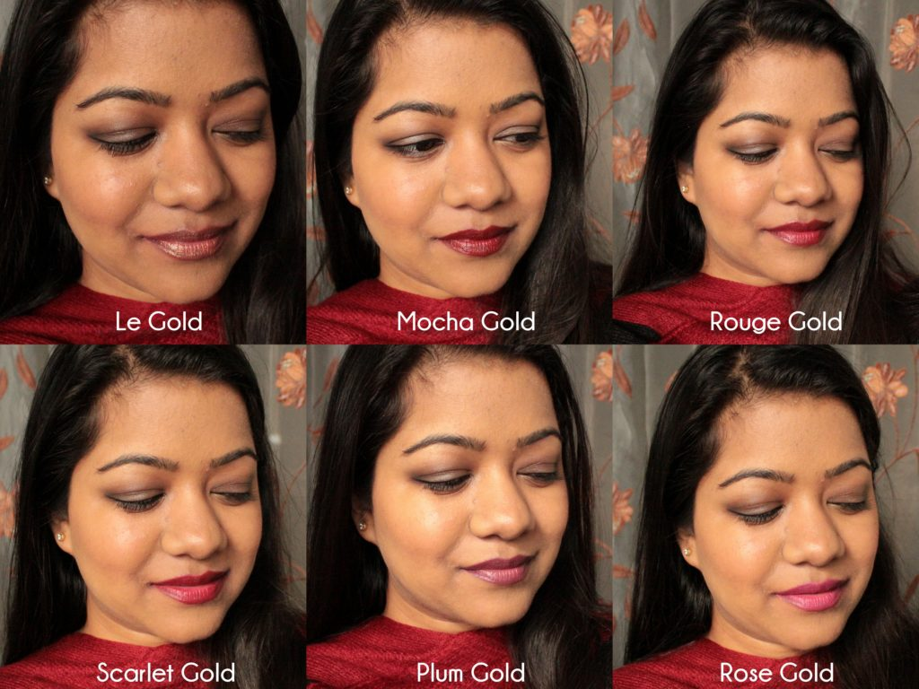 loreal bold gold makeup