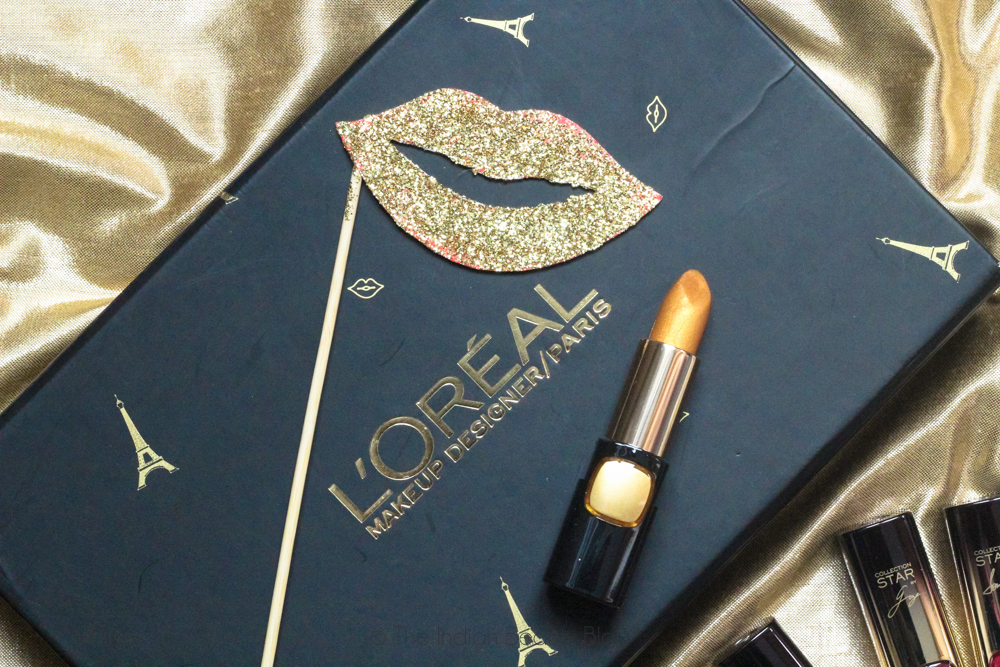 loreal bold in gold collection