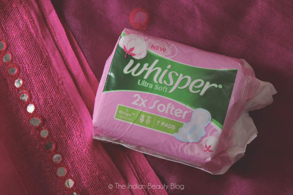 whisper ultra soft review
