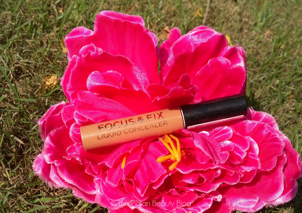 makeup revolution focus and fix concealer review swatch
