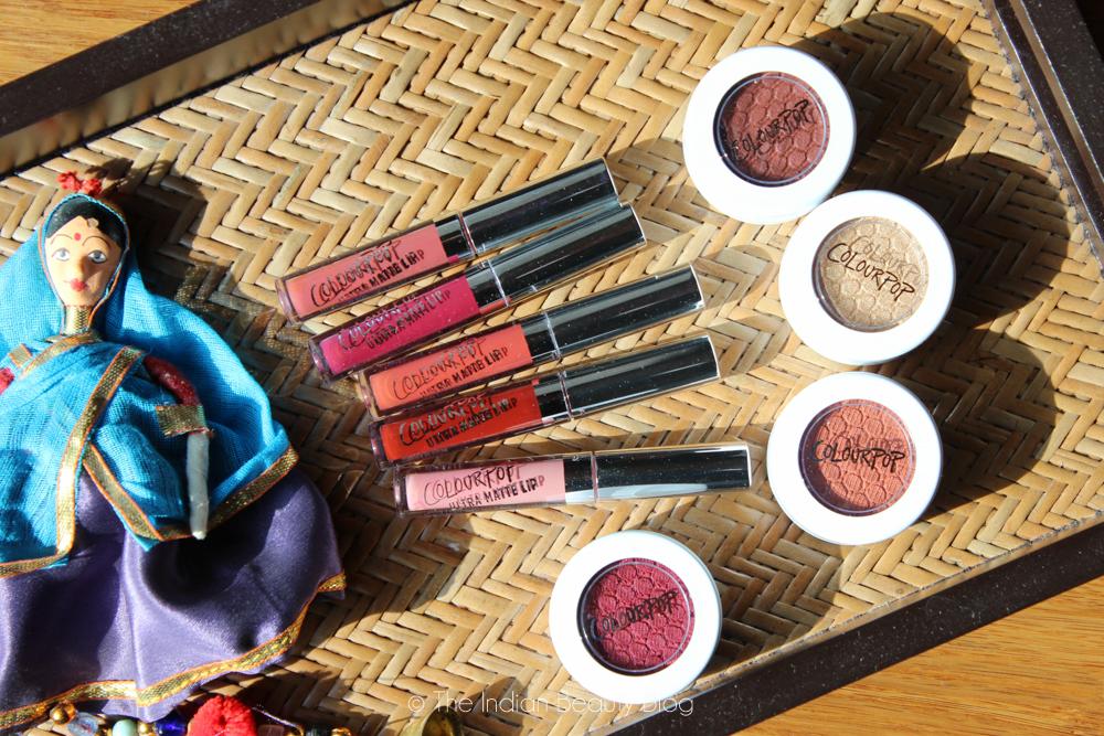 colourpop liquid lipstick swatches