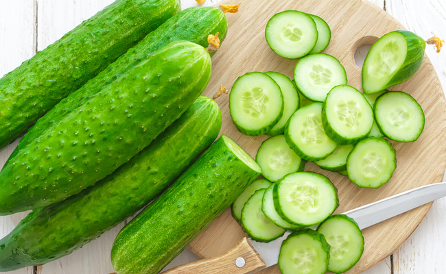 cucumber in skin care