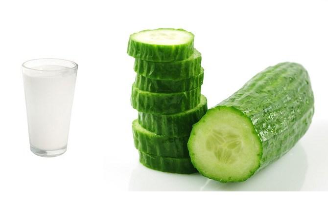 cucumber in skin care