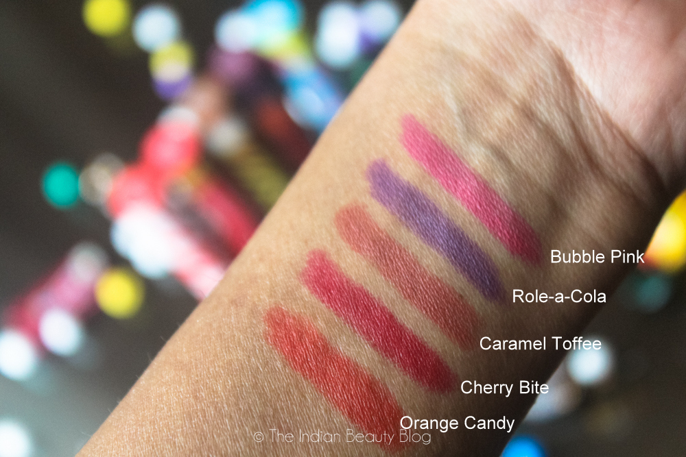 lakme absolute masaba lips review swatch fotd