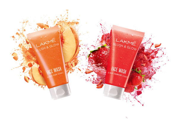 Lakme Strawberry Blush and Glow Face Wash