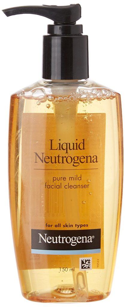 Neutrogena Liquid Face Cleanser