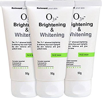 O3+ whitening and Brightening face wash