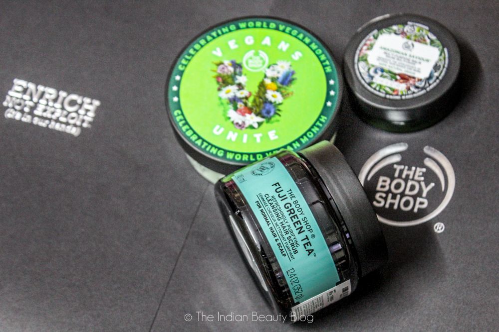 the body shop india vegan products