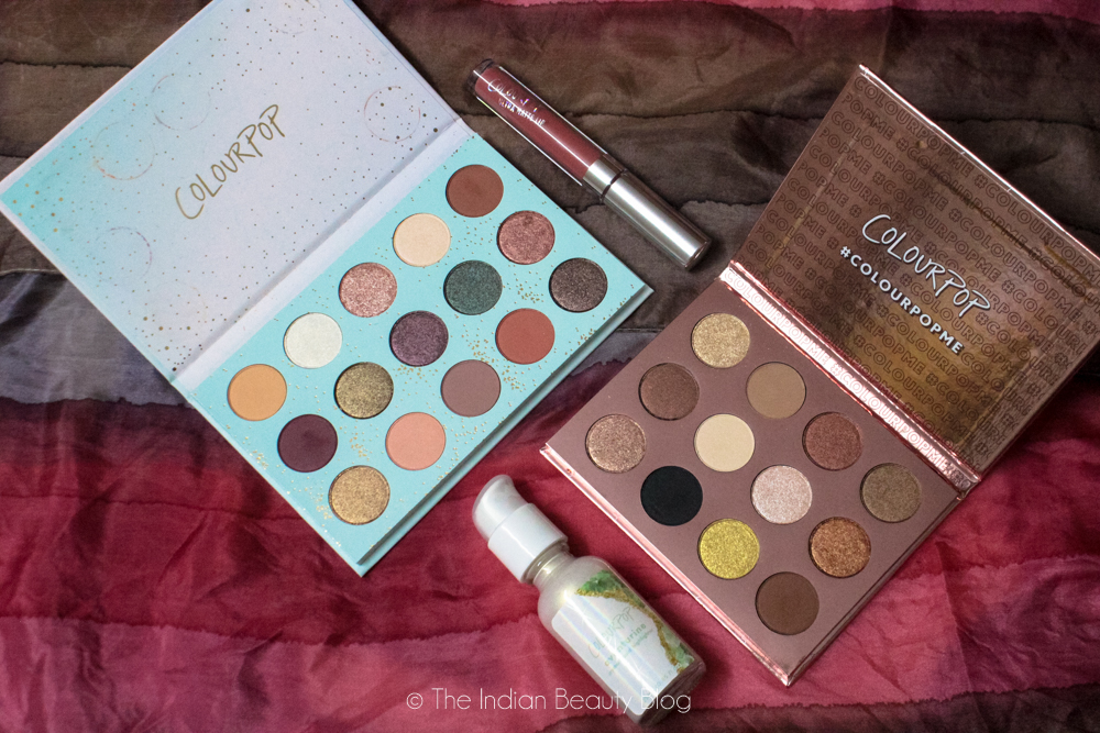 colourpop haul indian beauty blog
