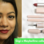 gigi maybelline collection review swatch price india