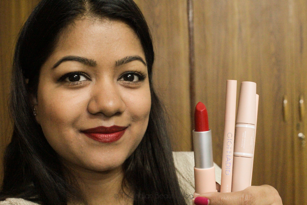 ec7352972f0 Gigi x Maybelline collection- Review + video | The Indian Beauty Blog