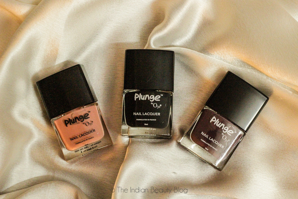 o3+ plunge nail color review