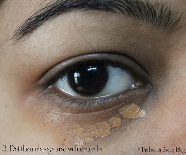 concealing dark circles